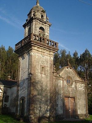 Moeche - Image: Igrexa de San Xurxo de Moeche