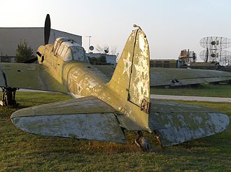 Ilyushin Il-2 - Il-2M at the National Aviation Museum in Krumovo, Bulgaria