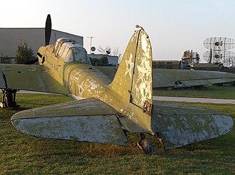 Ilyushin Il-2 - Il-2M at the National Aviation Museum in Krumovo, Bulgaria