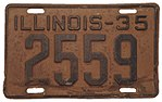 Illinois - 1935 license plate.jpg