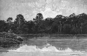 In Darkest Africa ascending Aruwimi River.jpg