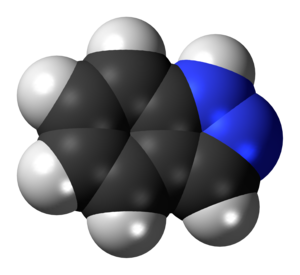Indazole - Image: Indazole 3D spacefill