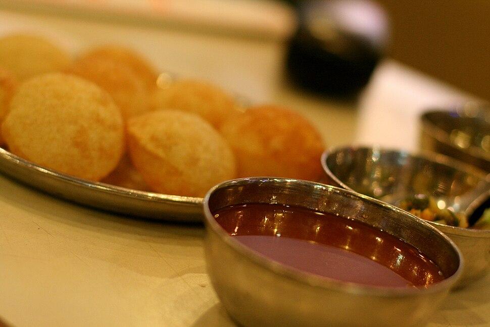 Indian cuisine-Panipuri-03