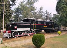 Another preserved black locomotive