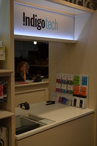 Indigo Books and Music - IndigoTech at the Eaton Centre Indigo Store in April 2014