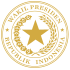 Indonesian Vice Presidential Seal gold.svg