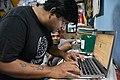 Indrajit Das Uploads Photograph - Wikimedia Meetup - Kolkata 2019-12-01 2754.JPG