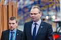 Informal meeting of defence ministers (FAC). Arrivals Jussi Niinistö (36939038101).jpg