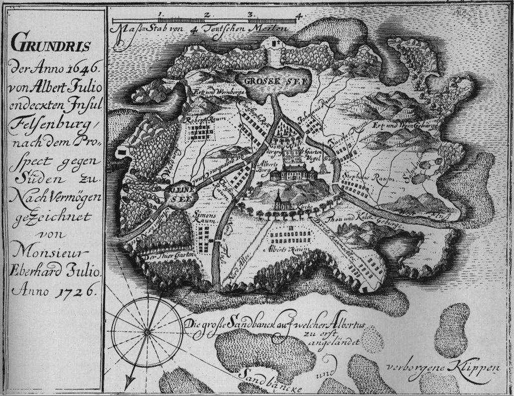 Des lieux légendaires, ou imaginaires 1024px-Insel_Felsenburg_map
