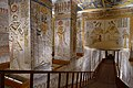 Inside tomb of Ramses V VI at Valley of the Kings on West Bank in Luxor Egypt.jpg