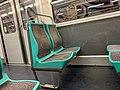 Intérieur Rame MF67 Métro Station Porte Lilas Ligne 3bis Paris 5.jpg
