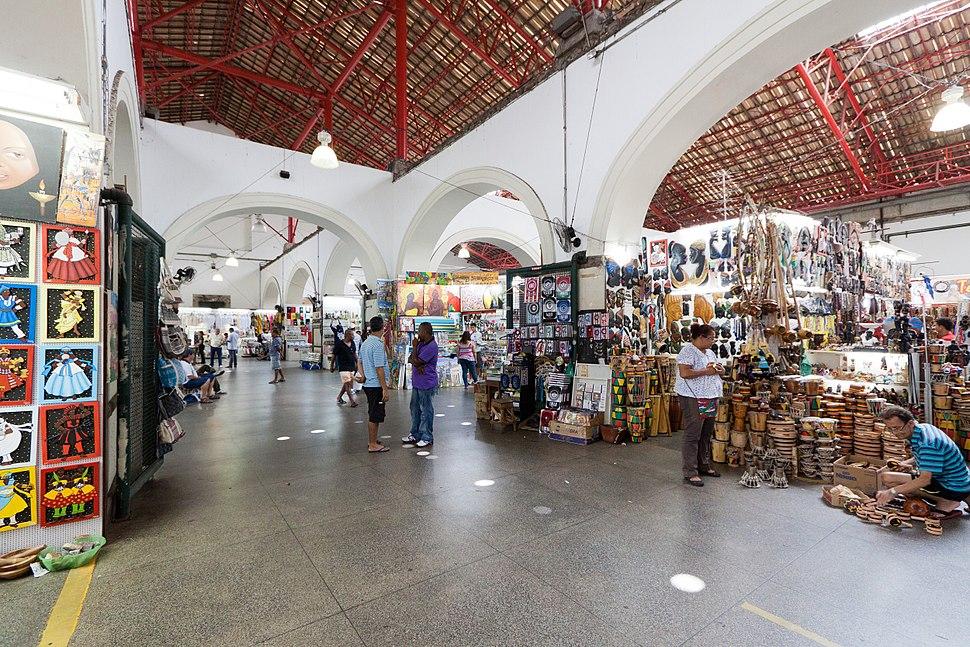 Interior do Mercado Modelo