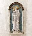 Interior of San Francesco della Vigna (Venice) - Madonna Bizantina Sec XII.jpg