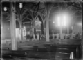 Interior of St Augustine's Anglican Church, Petone, in 1917. ATLIB 284395.png