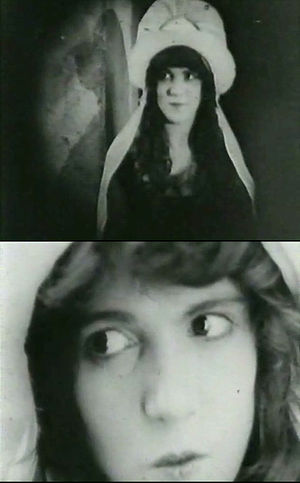 Margery Wilson - Two screen shots of Margery Wilson from D.W. Griffith's 1916 film Intolerance.