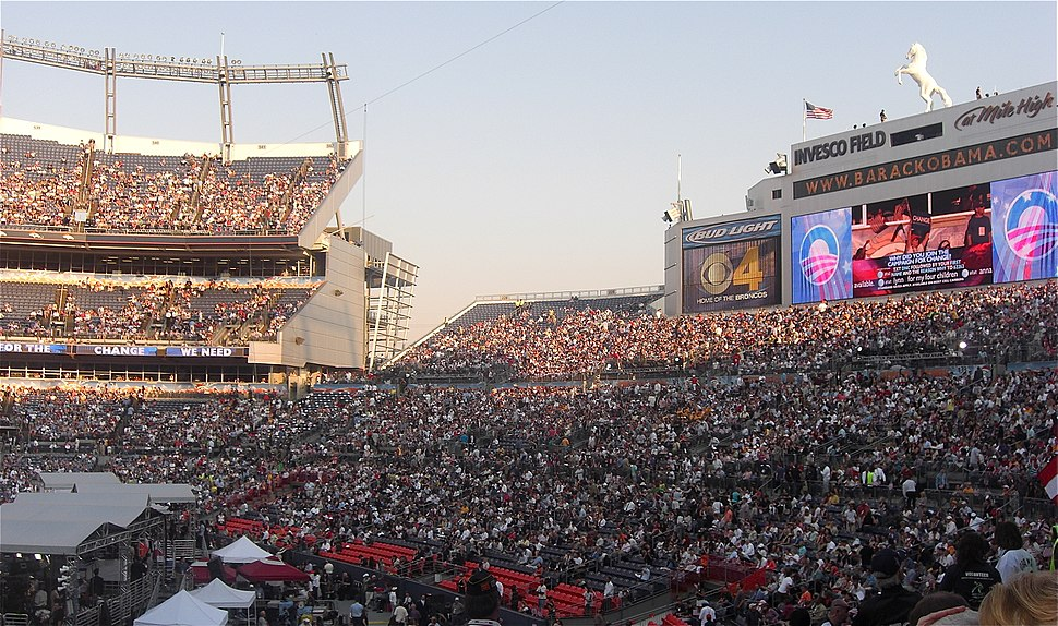 Invesco Field at Mile High DNC 2008