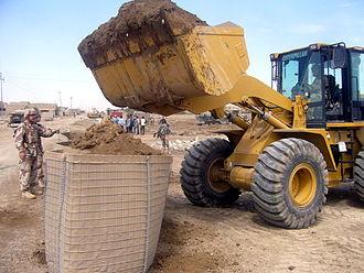 Hesco bastion - Image: Iraqi Hesco