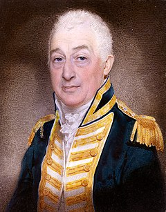 Isaac Coffin (1759 -1839), Admiral of the Blue