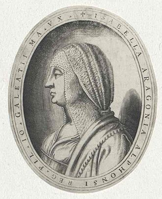 Isabella of Aragon, Duchess of Milan - Image: Isabella von Neapel