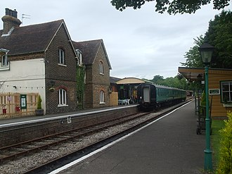 Isfield railway station - Image: Isfield Railway Station 5