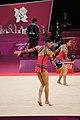 Israel Rhythmic gymnastics at the 2012 Summer Olympics (7915372532).jpg