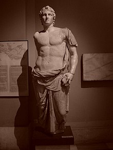Istanbul - Museo archeol. - Alessandro Magno (firmata Menas) - sec. III a.C. - da Magnesia - Foto G. Dall'Orto 28-5-2006 b-n.jpg