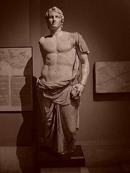 Istanbul - Museo archeol. - Alessandro Magno (firmata Menas) - sec. III a.C. - da Magnesia - Foto G. Dall'Orto 28-5-2006 b-n