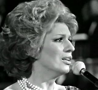 Iva Zanicchi Italian singer/MEP