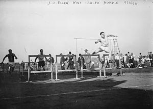 John Eller - Image: J.J. Eller wins 120 yd hurdle 9 16 11