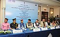 J.P. Nadda, the Minister of State for Power, Coal, New and Renewable Energy and Mines (Independent Charge), Shri Piyush Goyal and other dignitaries at the signing ceremony of an MoU between Govt. of Himachal Pradesh.jpg