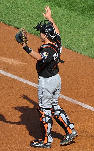 J. T. Realmuto - Realmuto with the Miami Marlins