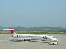 MD-90 della Japan Airlines