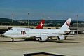 JA8087 B747-446 JAL ZRH 31AUG98 (6555651985).jpg
