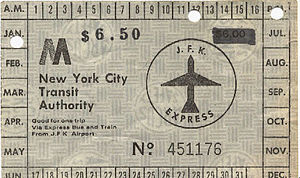 JFK Express - Ticket