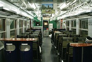 713 series - Interior of set LK904 in 2007