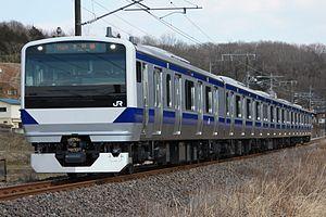 Mito Line - Image: JR East E531 Mito Line