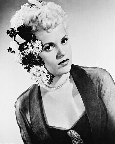 Judy Holliday, American actress, comedian and singer