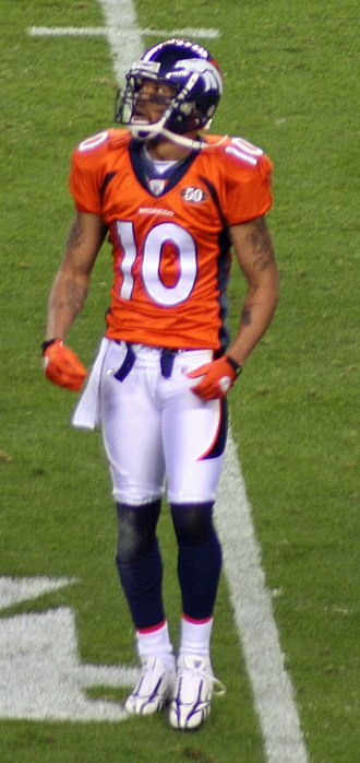 Jabar Gaffney - Gaffney during his time with Broncos.