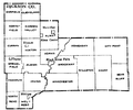 Jackson County Wisconsin townships from 1960 Census.png