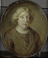 Portrait of Jacob Lescailje, Bookdealer and Poet in Amsterdam