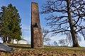Jacob Sverdrup Monument (bust by Gustav Lærum) at Melsom Videregående skole, Melsomvik, Tønsberg, Norway. 2019-03-25 A.jpg