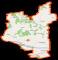 Jakubów (gmina) location map.png