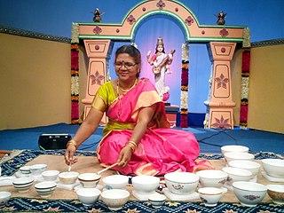 Shashikala Dani Indian Hindustani classical Jaltarang musician
