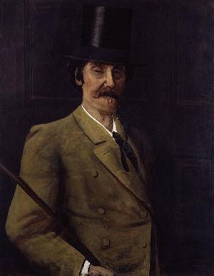Walter Greaves (artist) - Image: James Abbott Mc Neill Whistler by Walter Greaves