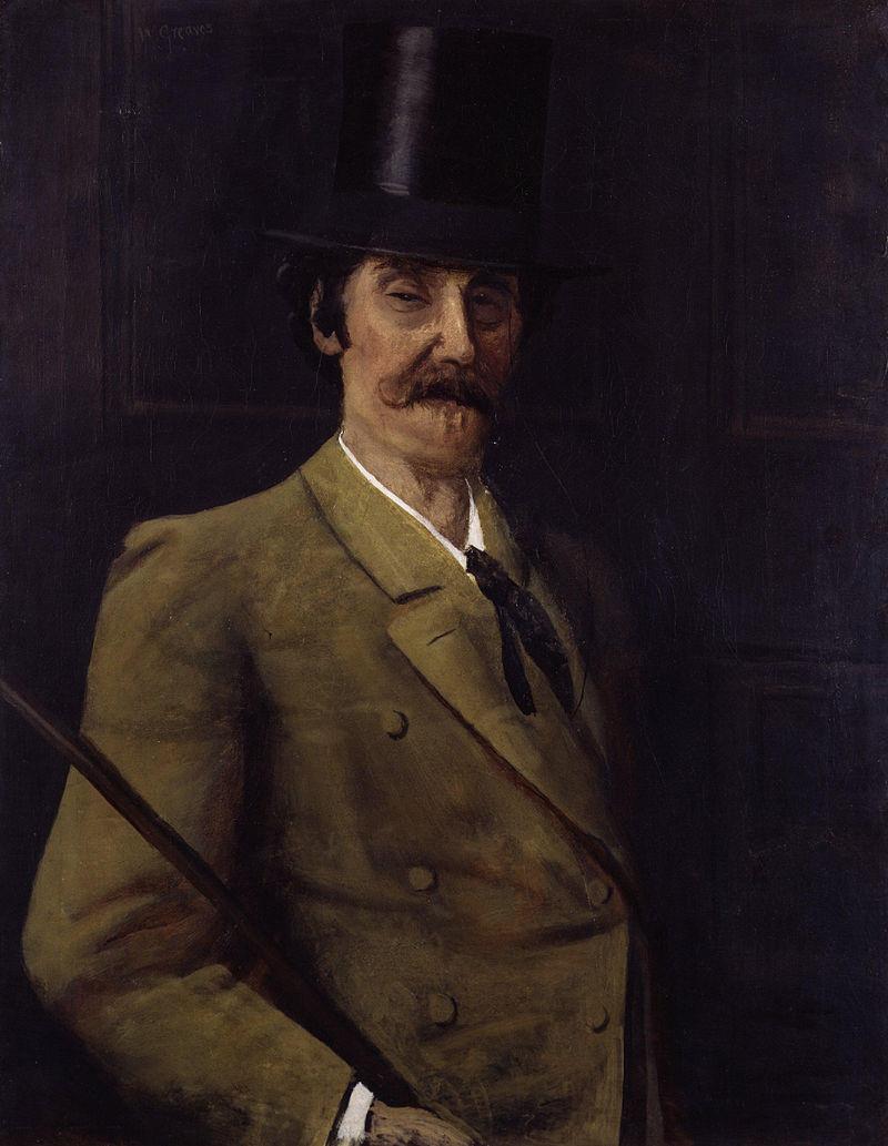 James Abbott McNeill Whistler por Walter Greaves.jpg