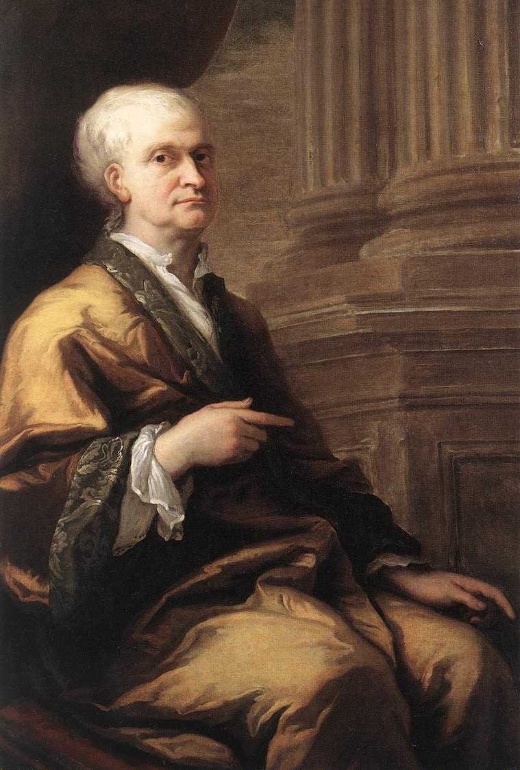 James Thornhill Portrait of Sir Isaac Newton