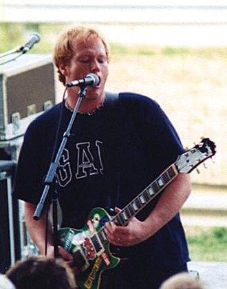Jamie Rowe - Rowe performing live