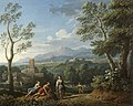 Jan Frans van Bloemen (1662-1749) - A Classical Landscape, with Figures Resting by a Road - 732185 - National Trust.jpg