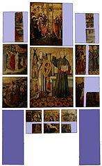 Retaule de Sant Bernardí i l'Àngel Custodi