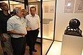 Jayanta Sengupta Visits With Shrikant Pathak And Nataraj Dasgupta - Objects In CRTL Archive Exhibition - NCSM - Kolkata 2018-05-18 0628.JPG